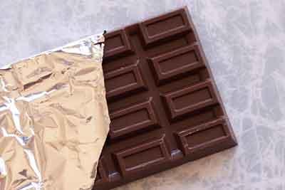 危険な食べ物チョコレート